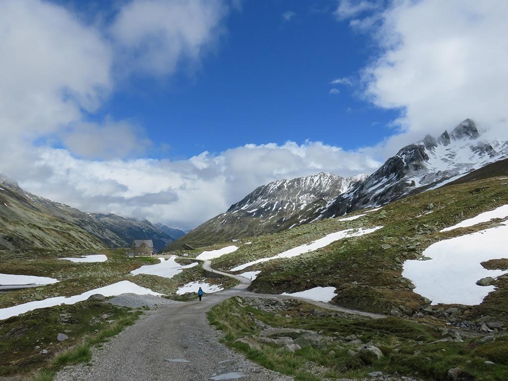 Alpenüberquerung Wandern zu Fuß