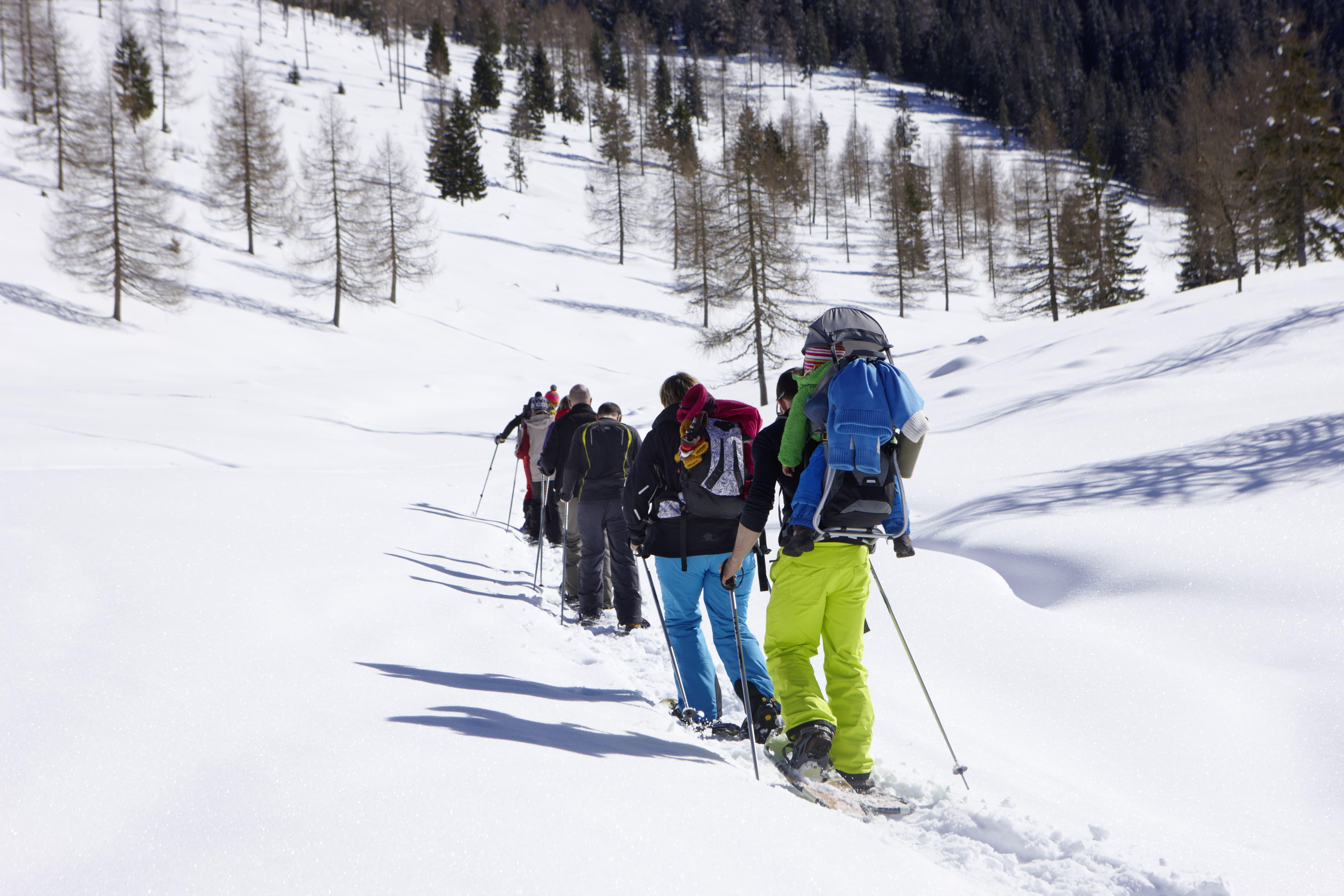 Schneeschwanderung in Kärnten