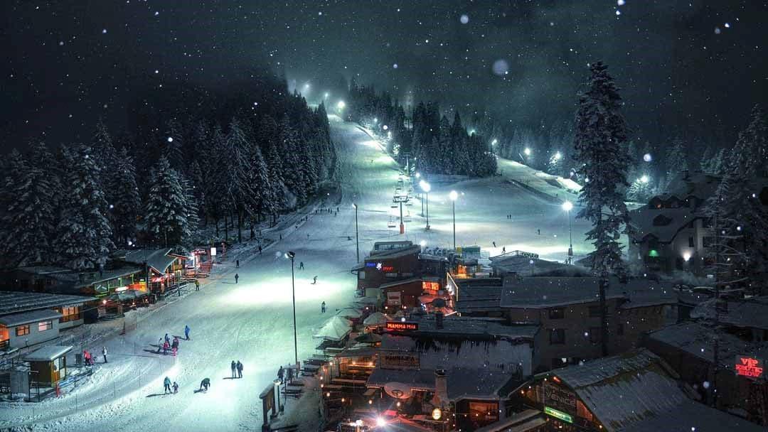 Skifahren in Borwez Bulgarien
