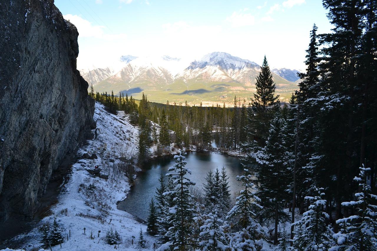 Wanderungen in Alberta Kanada