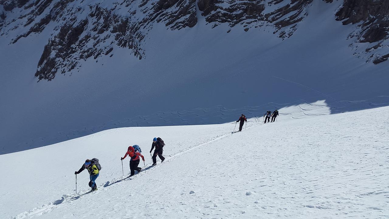 Skitouren gehen Oberbayern