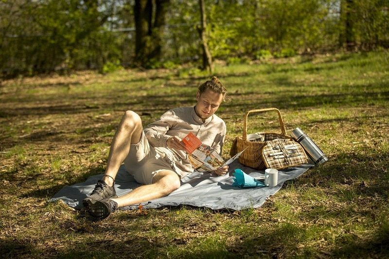 CNOC Decke für Picknick Test