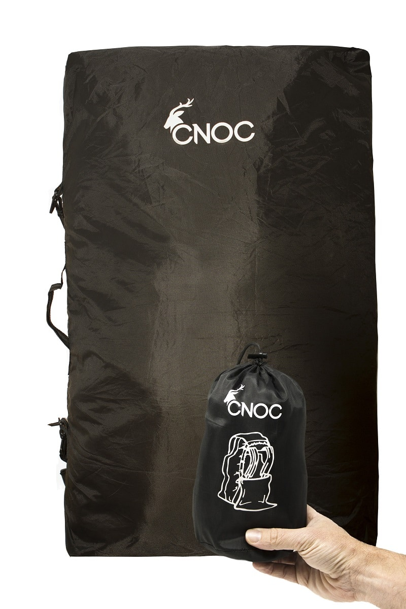 CNOC rucksack cover Test