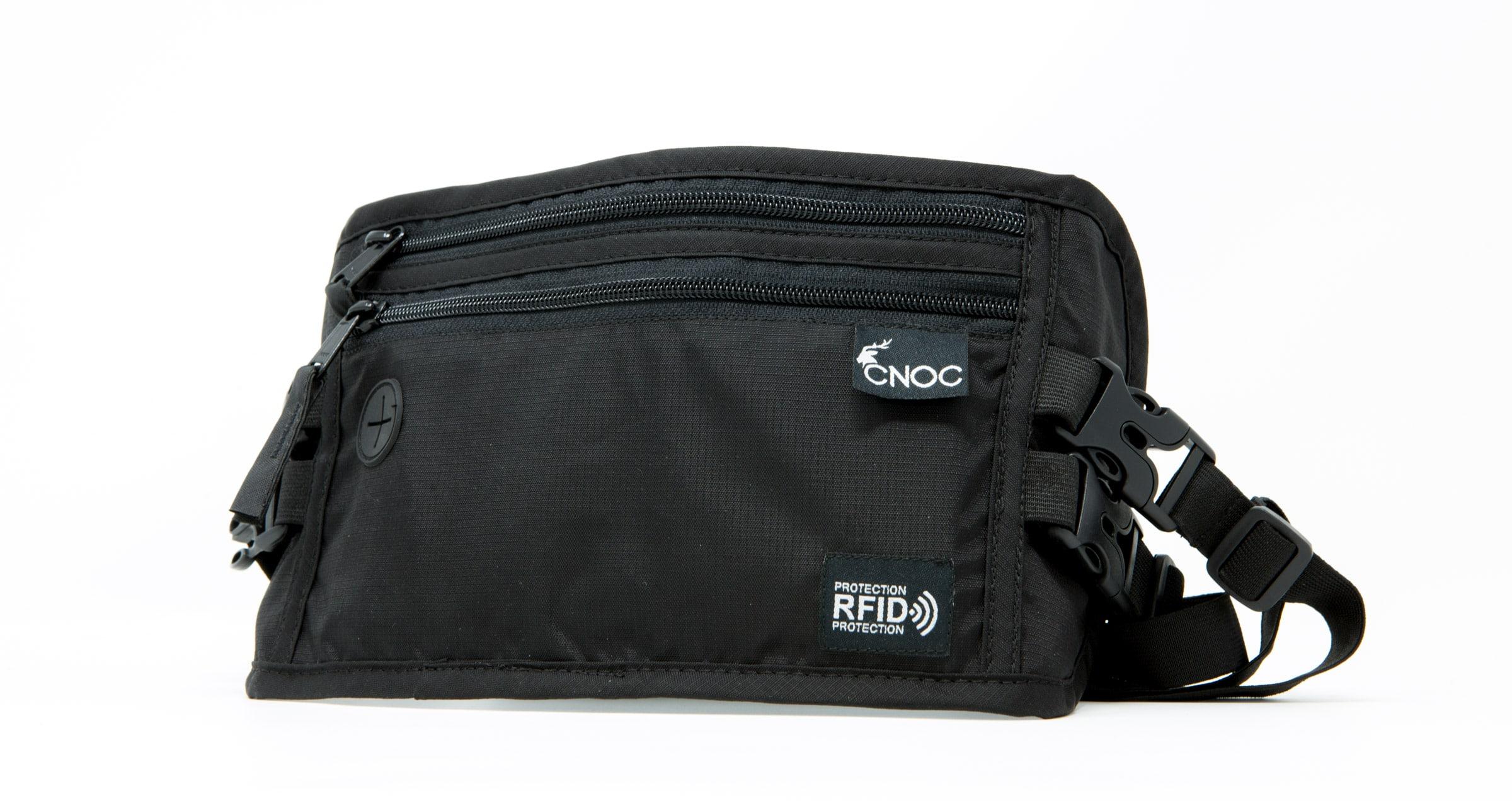 CNOC RFID Brustbeutel Test
