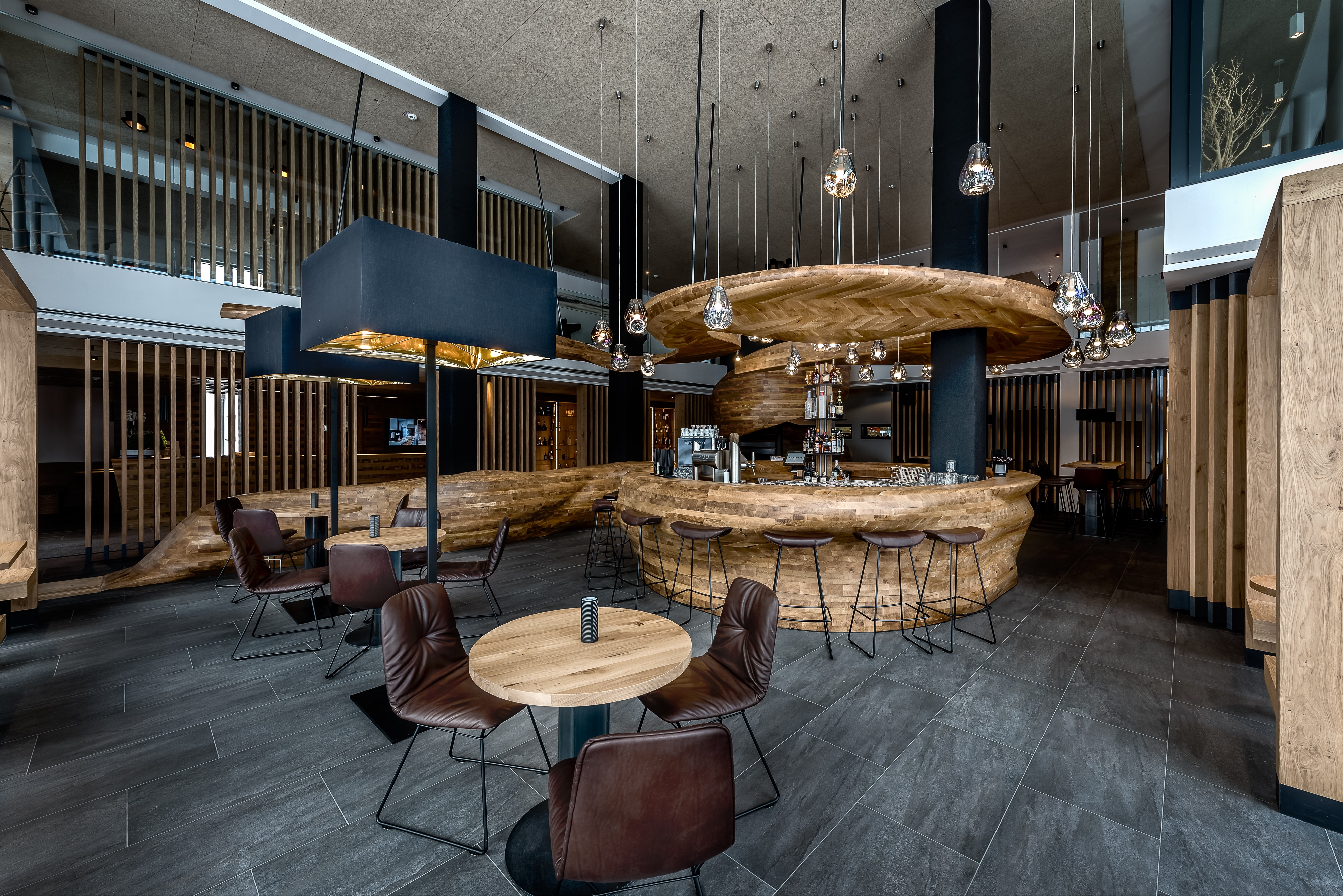 Bar im Hotel Puradies Leogang