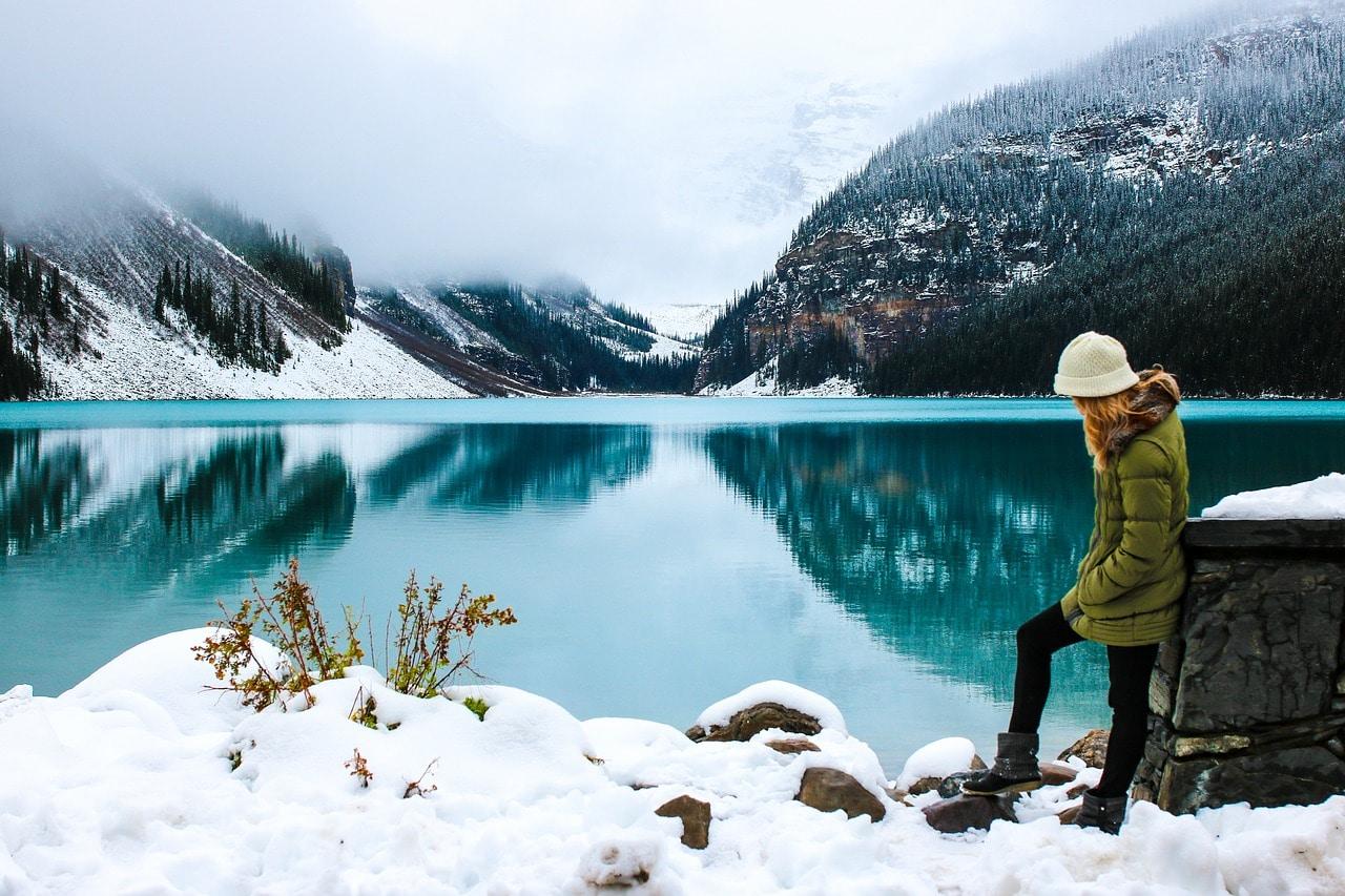 Welche Winterkleidung brauche ich zum Wandern