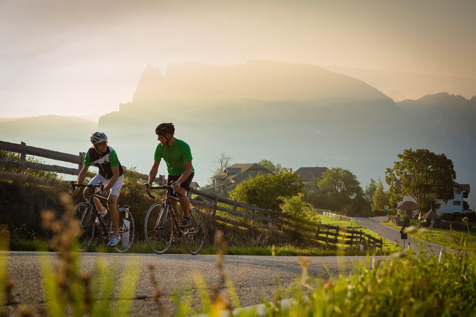Mountainbike Hotel der Berge