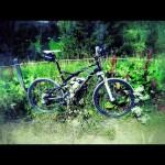 Mit dem Mountainbike von München zur Olympischen Regattastrecke