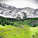 Mountainbike zum Schachenhaus: Von Eschenlohe hinauf zum Schachen