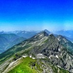 Wandern in Tirol: Bergtour Hochschrutte in den Ammergauer Alpen