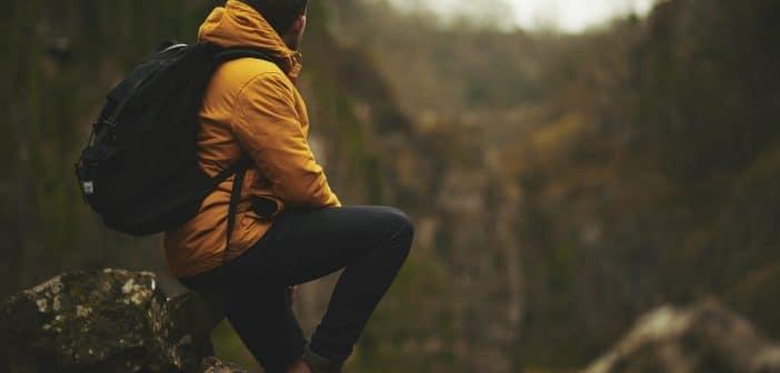 Perfekt gerüstet für eine Wandertour