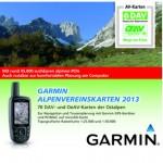 Trackback im Gelände: DAV Alpenvereinskarten für Garmin GPS
