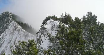 Die Brecherspitze im Mangfallgebirge
