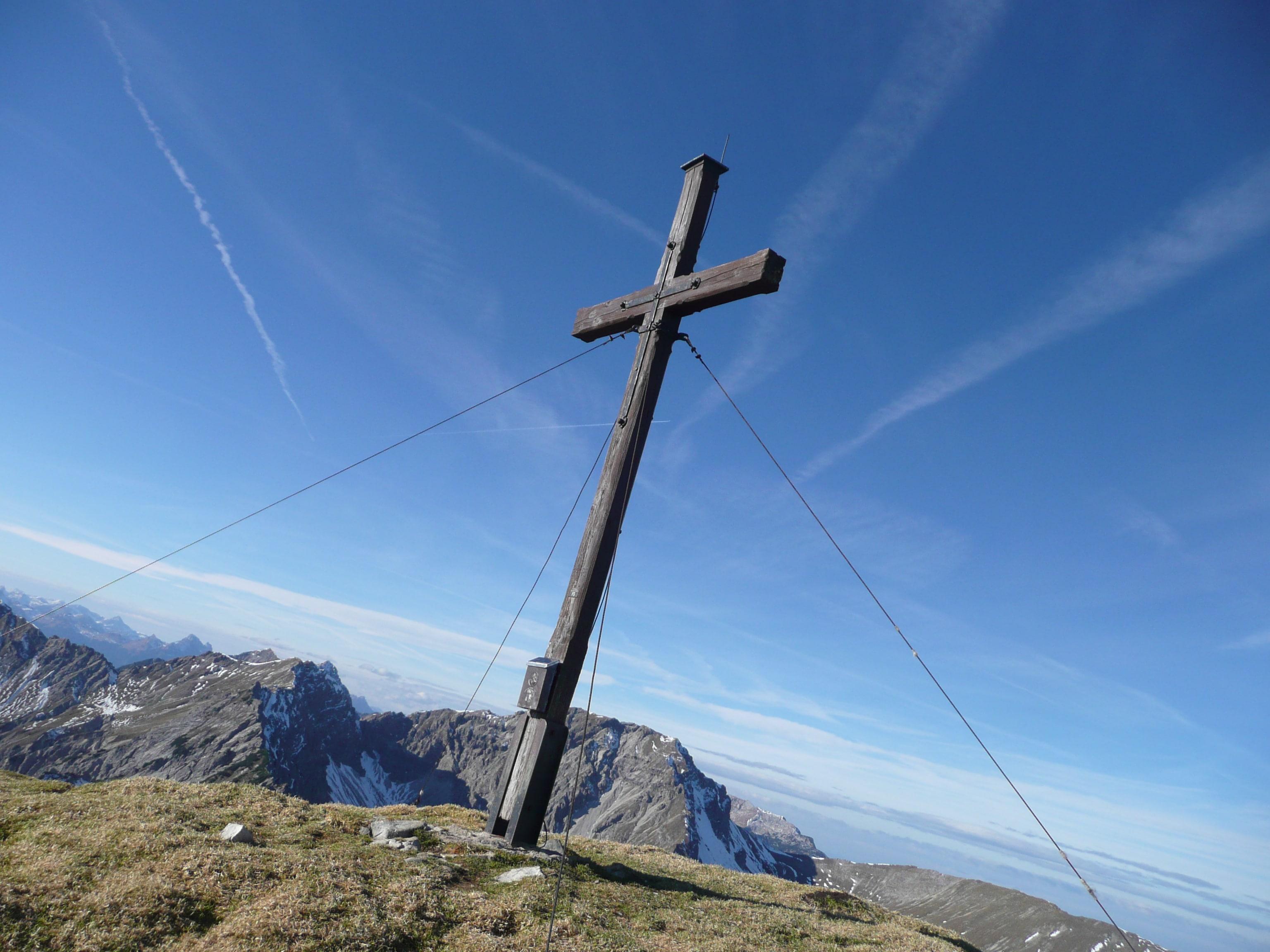 Gipfelkreuz Friederspitze