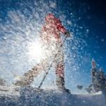 Skitour Garmisch Partenkirchen: Vom Kreuzeck zum Osterfeldkopf
