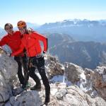Sass Rigais Klettersteig: Wandern und Klettern in den Grödner Dolomiten
