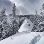 Skitour Chiemgau: Über das Abereck zum Heuraffelkopf