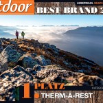 News: Therm-a-Rest holt Best Brand Award