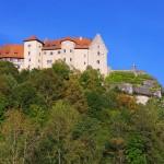 Burg Rabenstein Ahorntal in Oberfranken: Der Promenadenweg