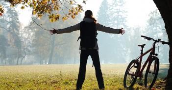 Radfahren und Kondition aufbauen