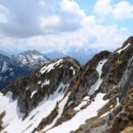 Rot Flüh Bergwanderung im Tannheimer Tal