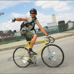 Fahrradkurier aus Leidenschaft