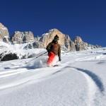 Skigebiet Carezza: Skifahren in den Dolomiten