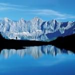 Wandern Dachstein dem höchsten Bergmassiv der Steiermark und Oberösterreich