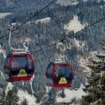 Das Hündle Skigebiet im Allgäu