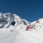 Das Skigebiet Sulden am Ortler