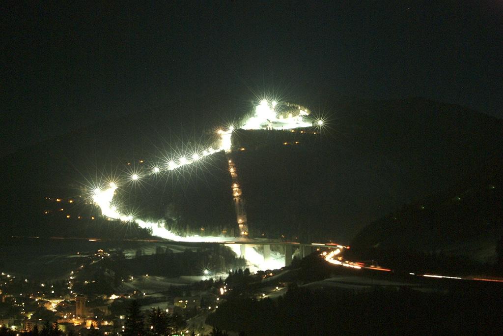 Nightride im Skigebiet Bergeralm