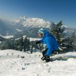 Skigebiet Hochschwarzeck im Berchtesgadener Land