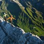 Der Arlberger Klettersteig in St. Anton am Arlberg