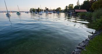 Seen um München - der Starnberger See bei Tutzing