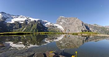 Engelbert Wandern - Spiegelsee auf der Fürenalp