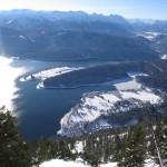 Das Skigebiet Herzogstand bietet ein anspruchsvolles Gelände direkt vor den Toren Münchens