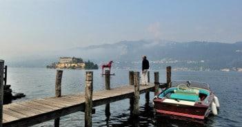 Der Ortasee in der Provinz Novara Piemont