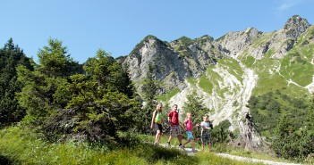 Der Schmugglersteig Schattwald im Tannnheimer Tal