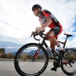 BMC Racing Team-Fahrer Rohan Dennis attackiert den Stundenweltrekord in Grenchen