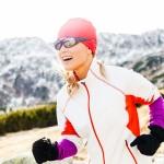 Sportbrillen und Jogging