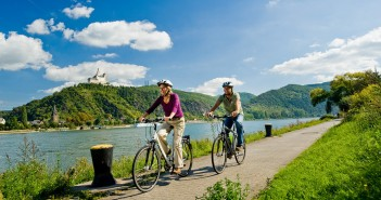 Radweg Rhein