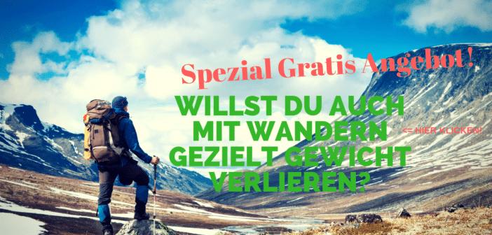 Gratis Email Serie – Abnehmen mit Wandern