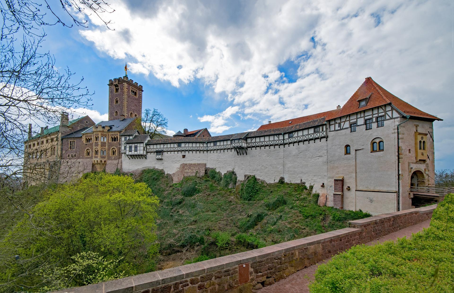 Die Wartburg in Thüringen